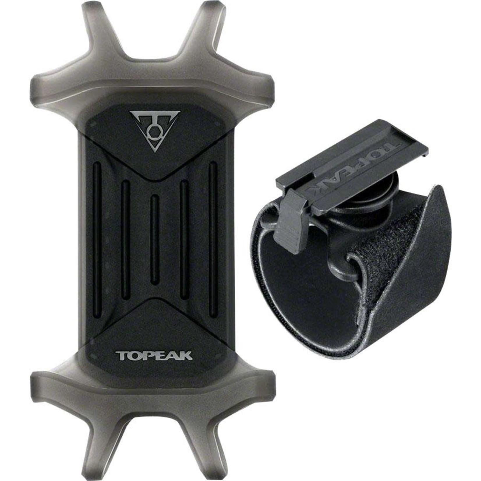"TOPEAK Topeak Omni RideCase for 4.5"" to 5.5"" Phones with Adjustable Strap Mount"