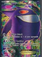 Pokemon Gengar EX 114/119 Full Art (LP)