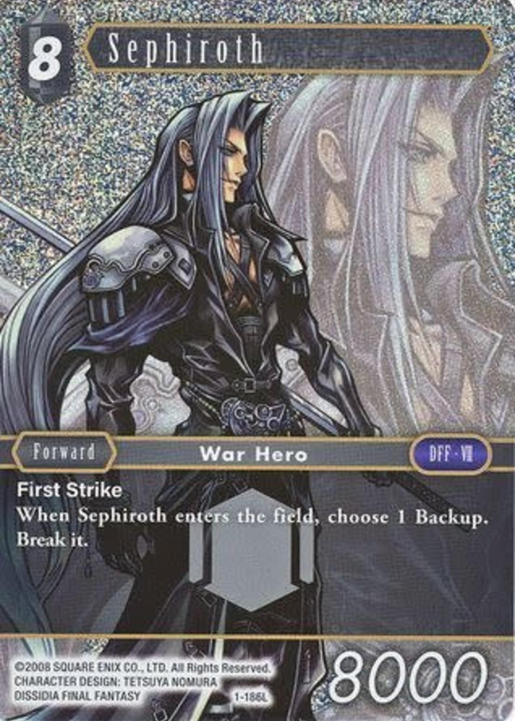Sqaure Enix Sephiroth 1-186L (Foil) (NM)