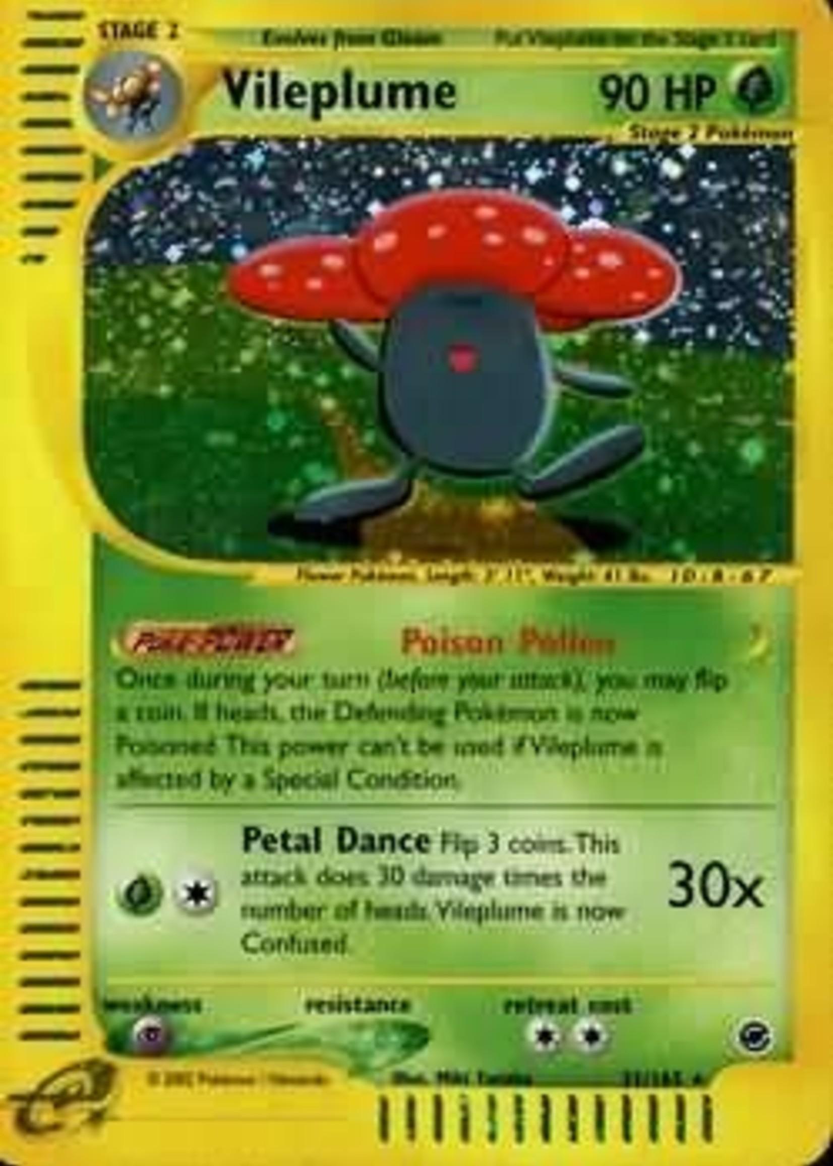Pokemon Vileplume Expedition Single 31/165 (MP)