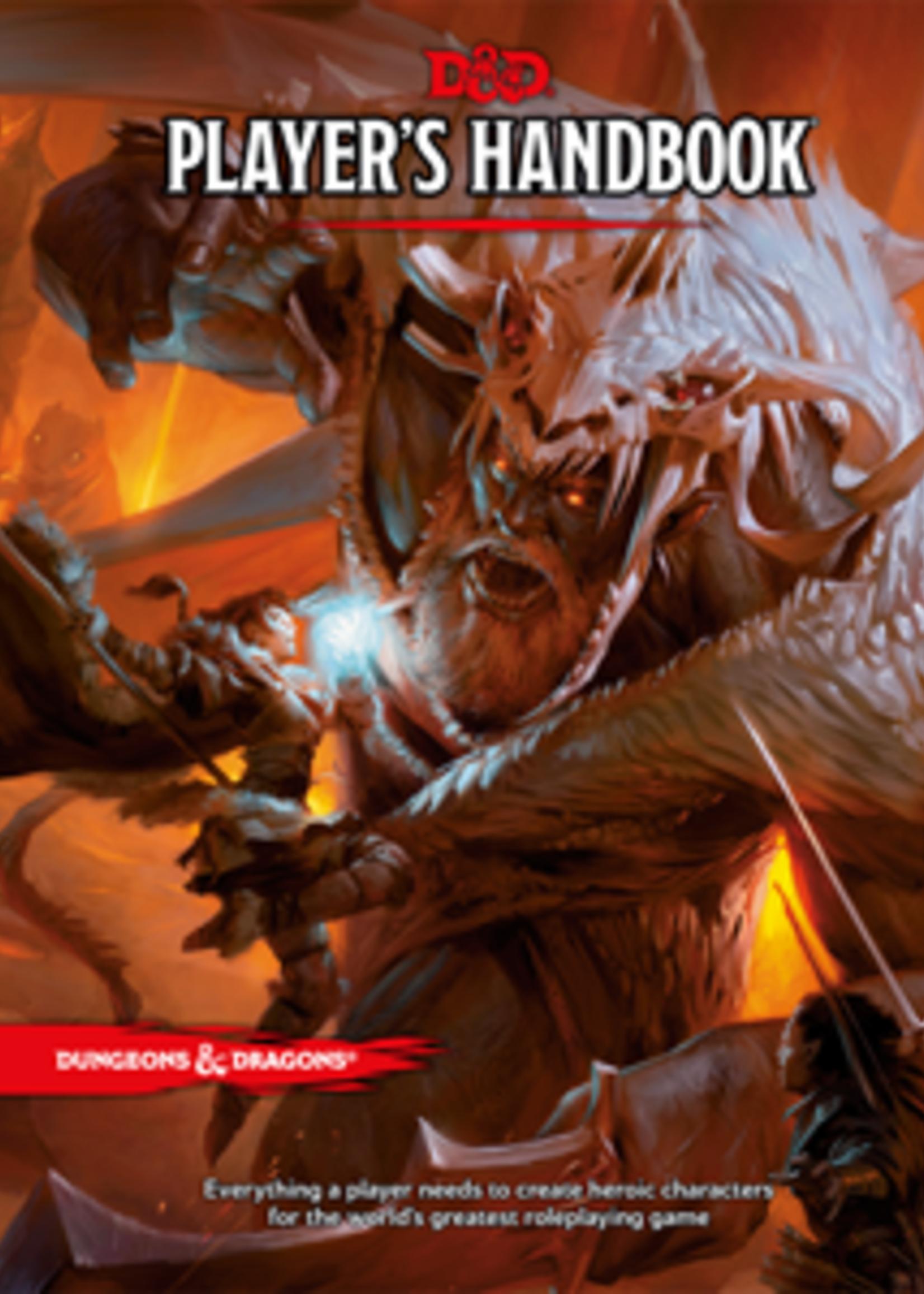 Wizards of the Coast D&D 5e - Player's Handbook