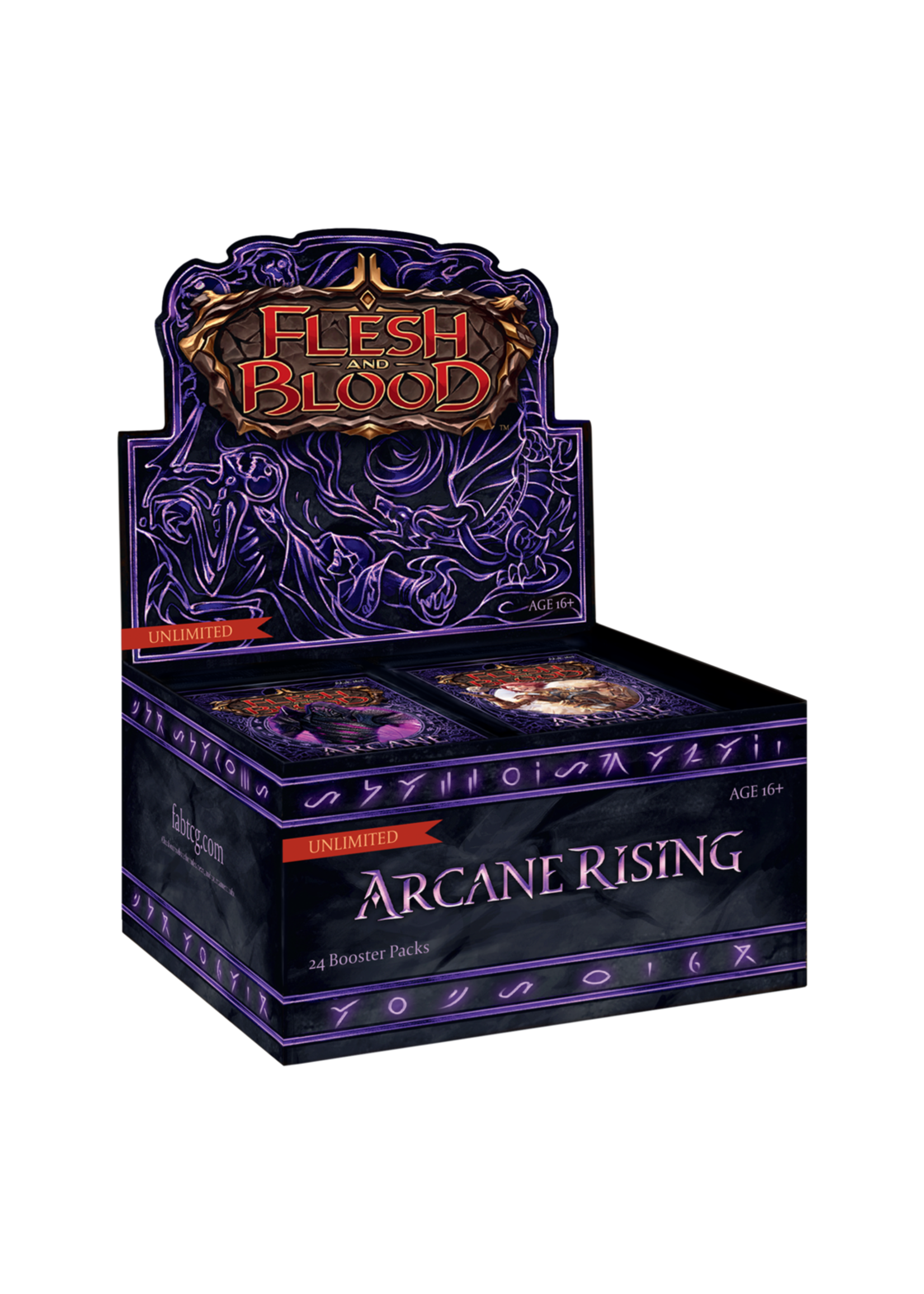 Flesh and Blood Flesh and Blood - Arcane Rising Display Box - Unlimited
