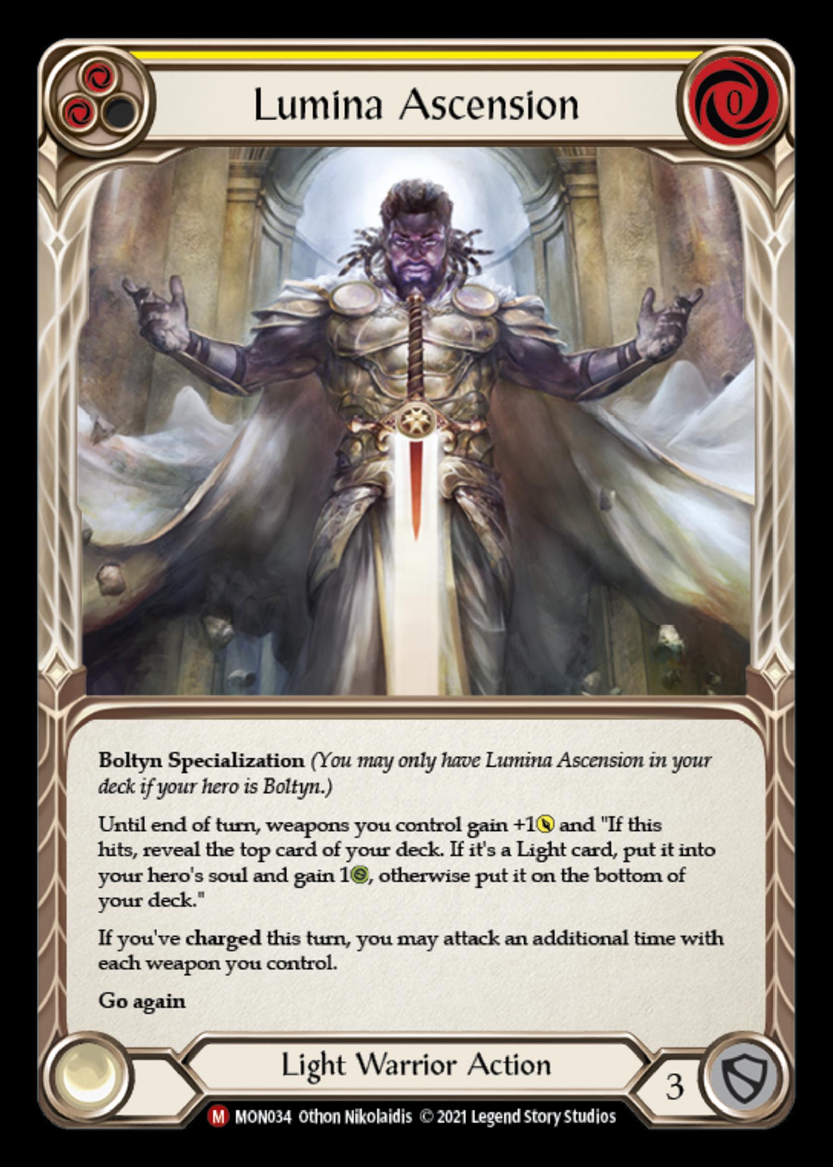 Flesh and Blood Lumina Ascension, MON034