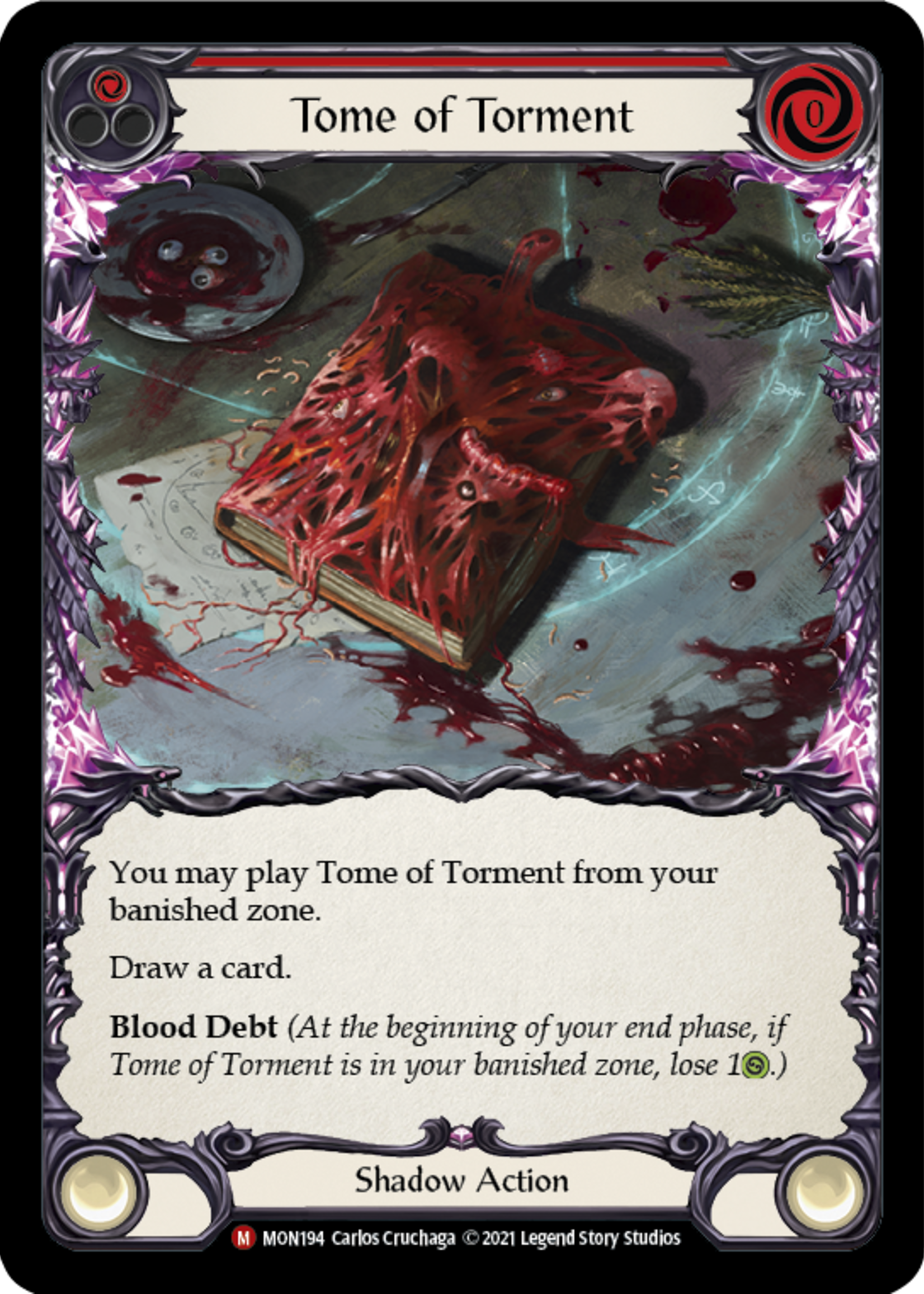 Flesh and Blood Tome of Torment, MON194