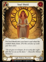 Flesh and Blood Soul Shield (Yellow), MON063