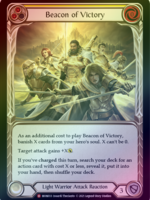 Flesh and Blood Beacon of Victory, MON033, Foil