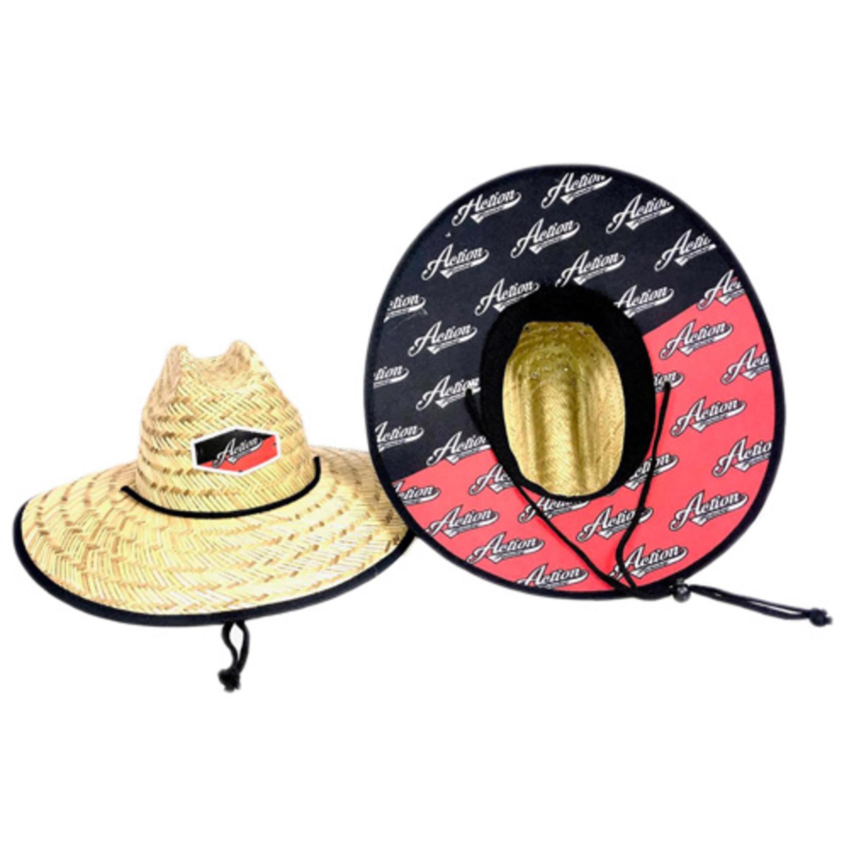Action Rideshop Straw Hat