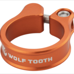 Wolf Tooth Components Seatpost Clamp 31.8mm Orange