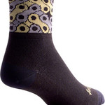 SockGuy SockGuy Classic Links Socks - 3 inch, Black, Small/Medium