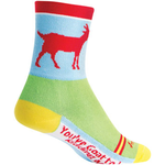SockGuy SockGuy Classic Goat Socks - 4 inch, Red/Blue/Green, Small/Medium