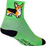 SockGuy SockGuy Classic Ernie Socks - 3 inch, Green, Small/Medium