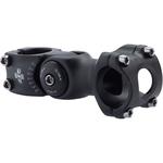 "Kalloy Kalloy 820 Stem - 95mm, 31.8 Clamp, Adjustable, 1 1/8"", Aluminum, Black"