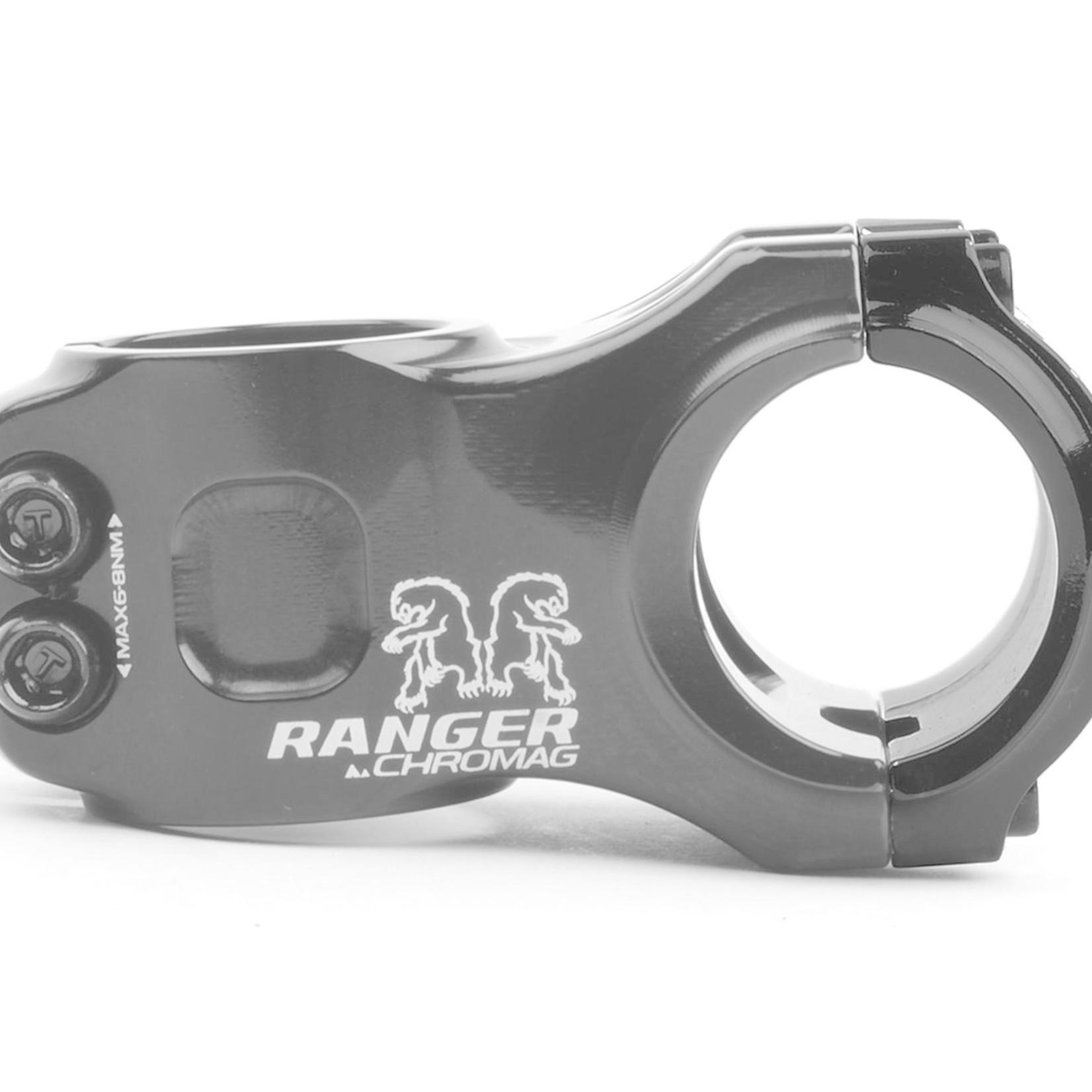 Chromag Ranger V2 Stem, (31.8) 0d x 40mm - Black