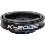 K-Edge K-EDGE Gravity Cap Stem Mount for Garmin Quarter Turn Type Computers, Black