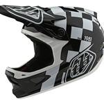 Troy Lee Designs D3 Fiberlite Helmet Vertigo Black/White LG