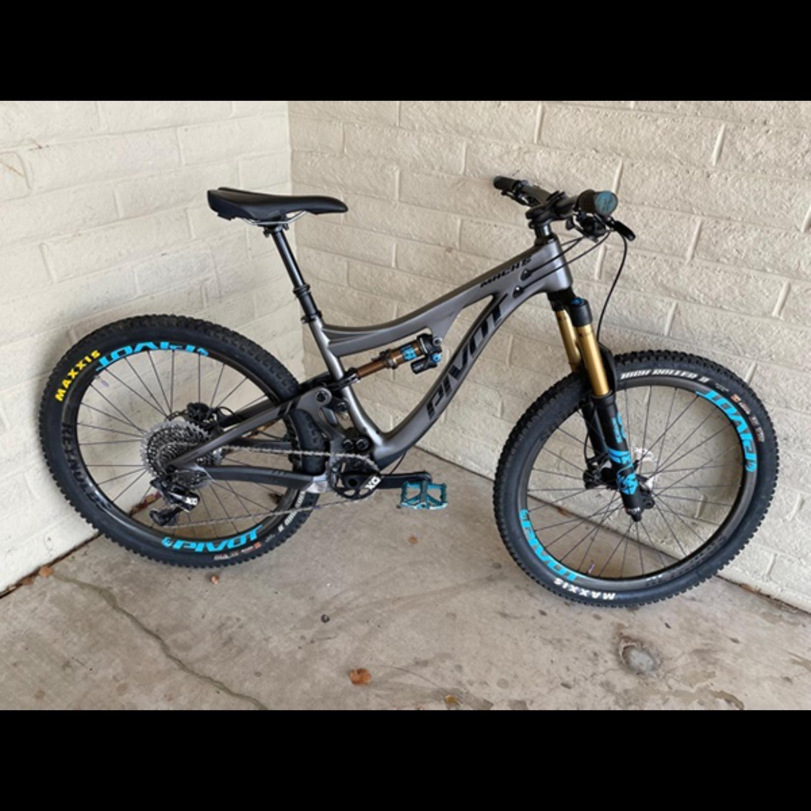 Pivot Cycles 2019 Mach 6 Pro X01 Build Kit w/ Carbon Wheels