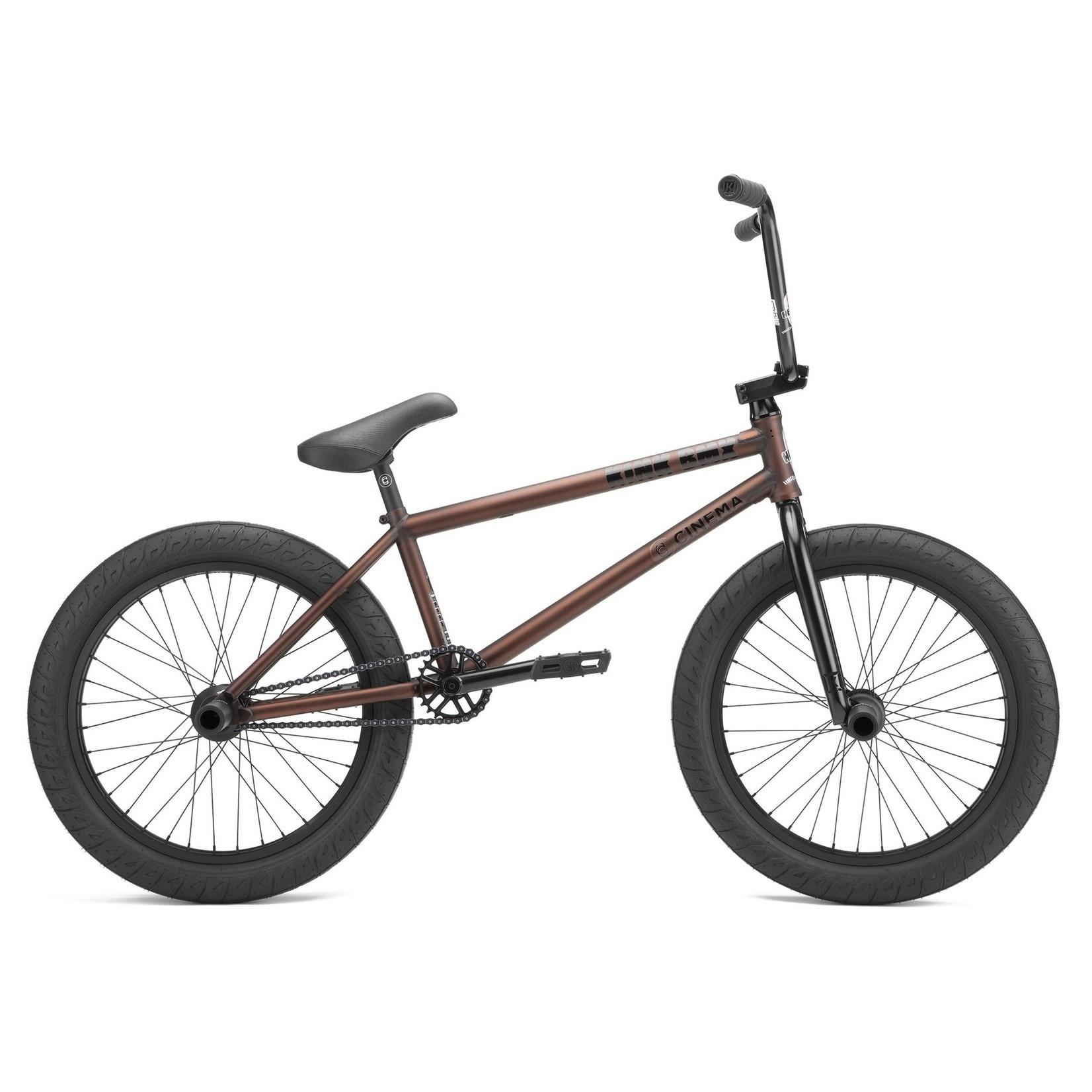 Kink 22 Williams BMX Bike Matte Rattlesnake Brown
