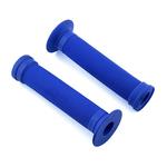 ODI ODI Longneck ST Grips - Blue, Flange