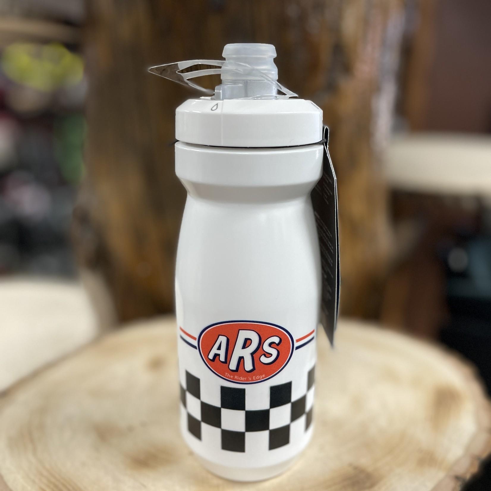 Action Rideshop Checkered Water Bottle