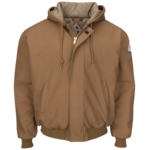 WFS Ruffneck Isulated Jacket Duck Brown L