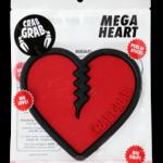 Crab Grab Mega Heart Stomp Pad Red