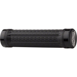 Renthal Traction Grips - Black, Lock-On