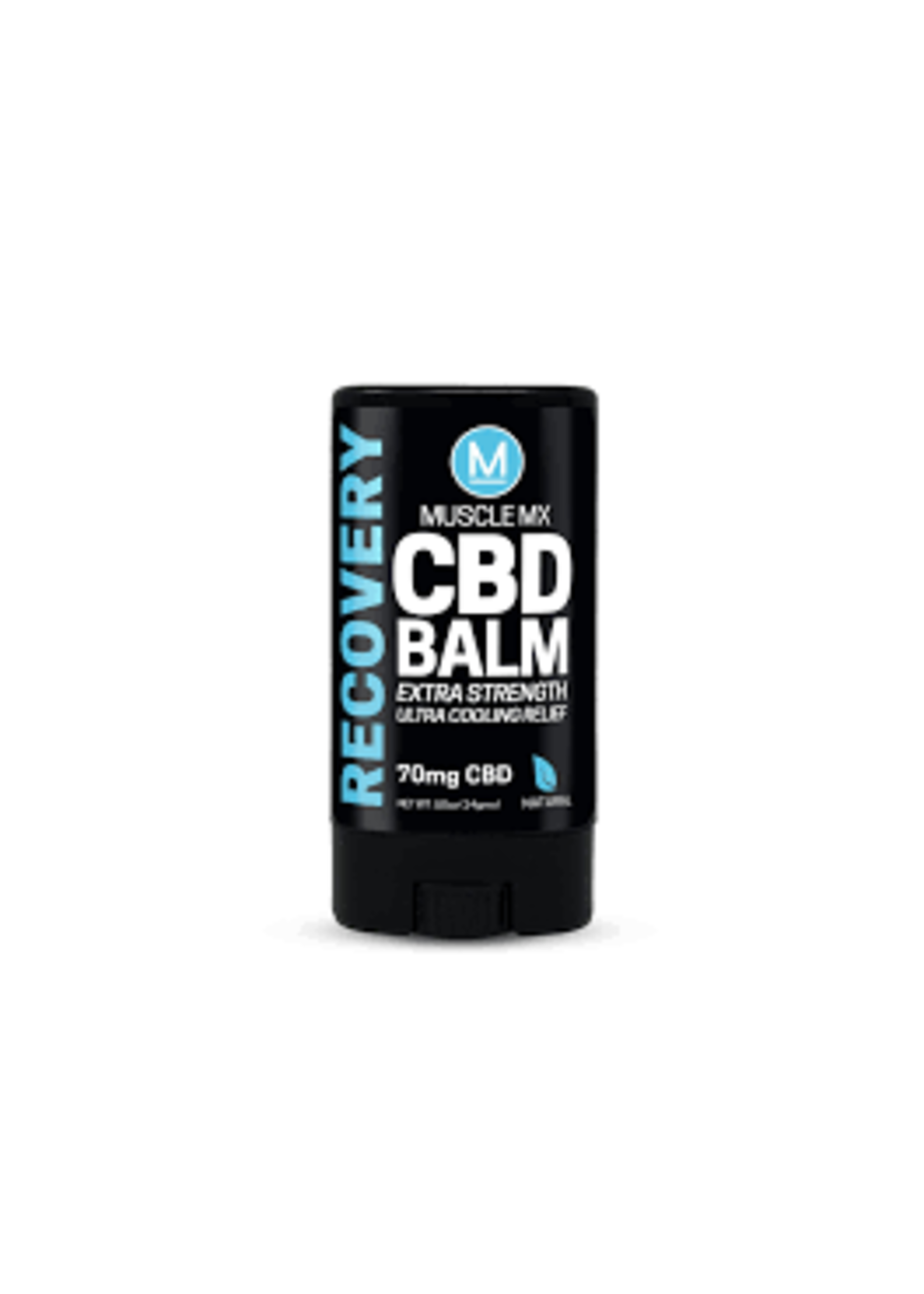 MuscleMX 70mg  Broad Spectrum CBD MuscleMX Recovery Roll on Balm