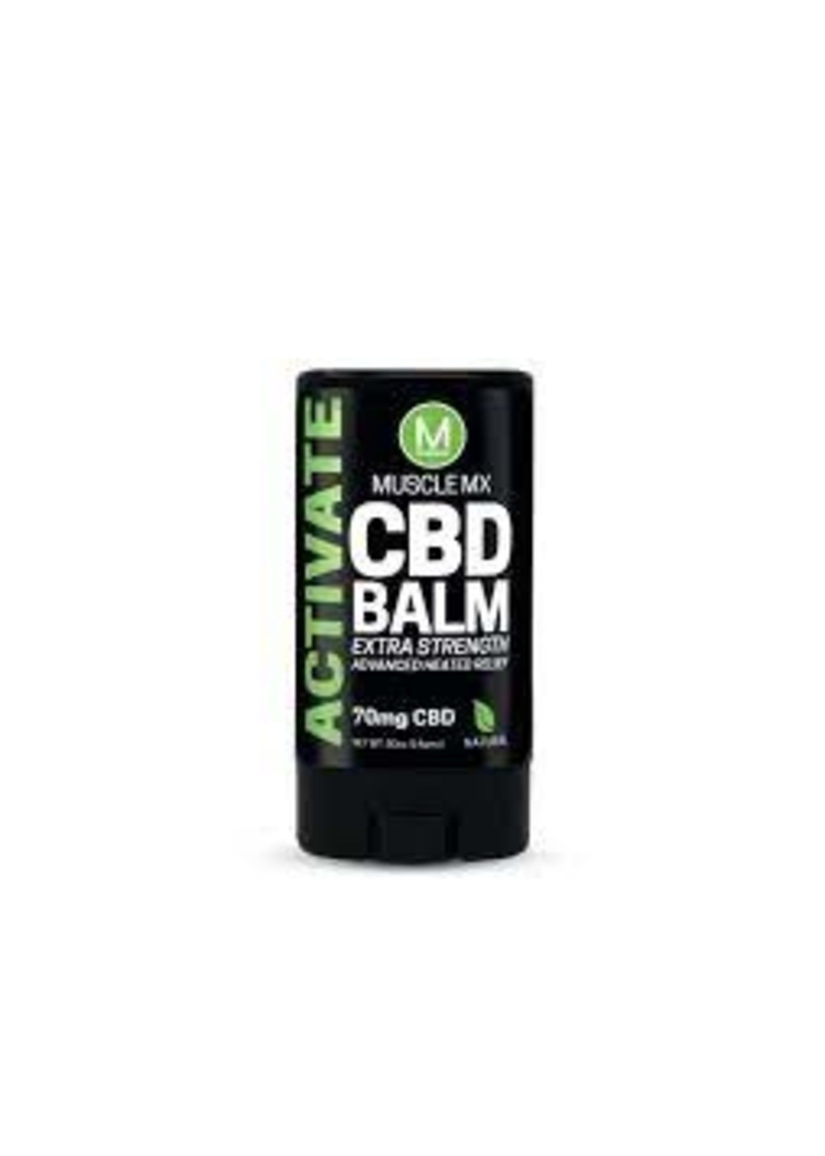 MuscleMX 70mg  Broad Spectrum CBD MuscleMX Activate Roll on Balm