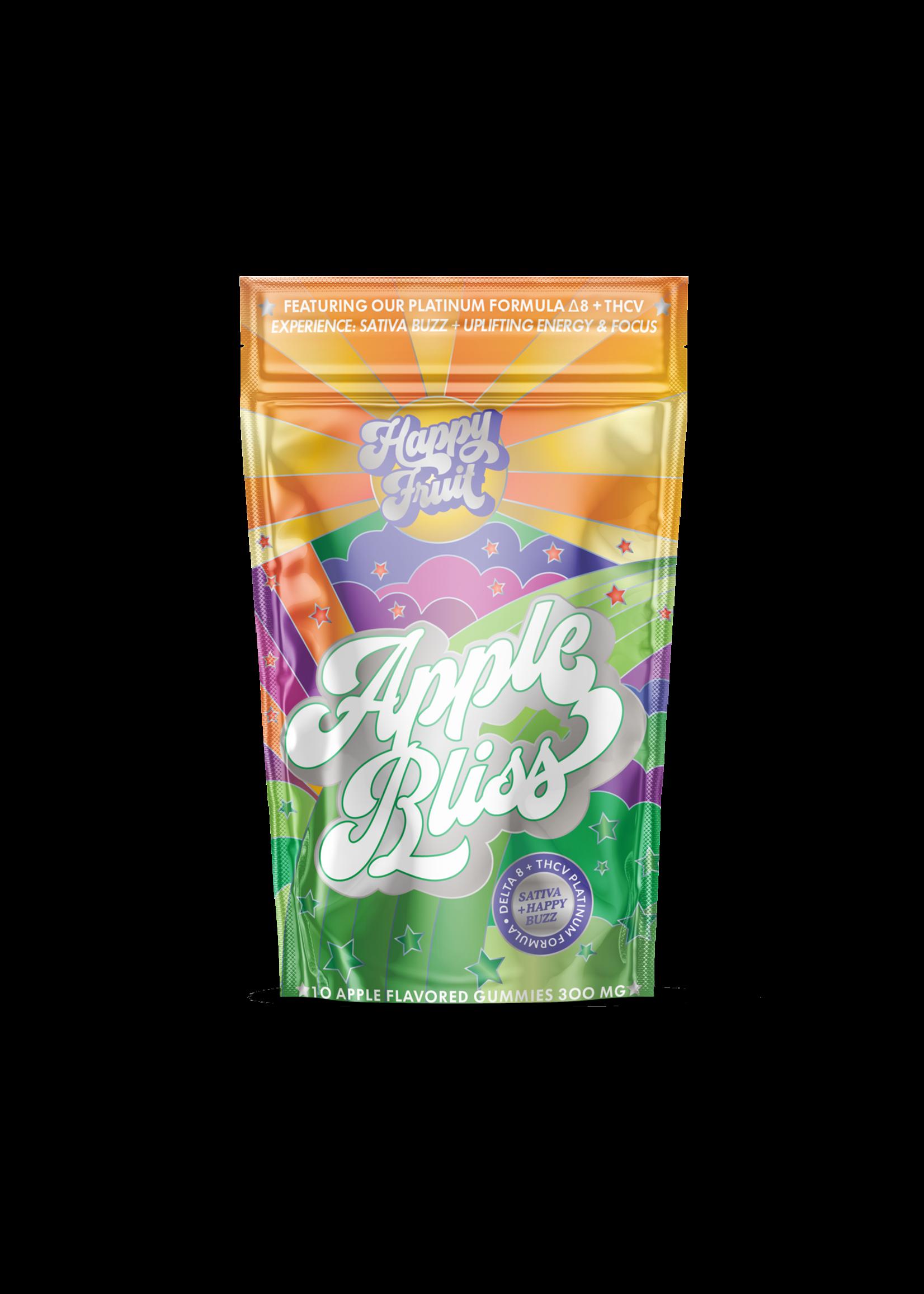 Happy Fruit Apple Bliss Delta 8/THCV Gummys