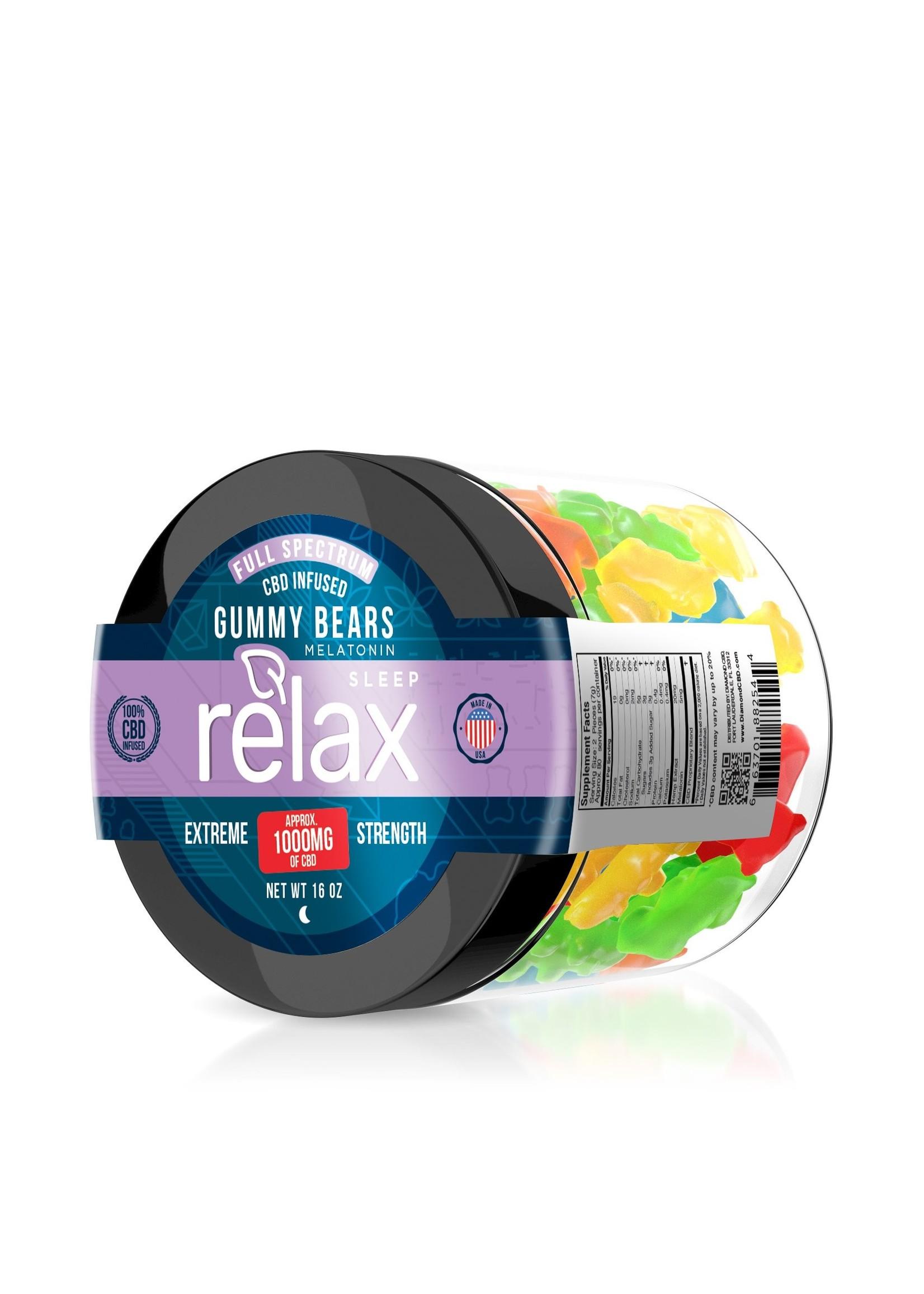 Relax 1000mg Relax Sleep Gummys