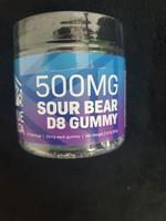 True Delta 500mg Delta 8 Sour Bears True Delta