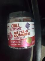 Chill 1250mg Delta 8 gummies 50pc Jar