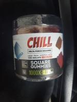 Chill 1000mg Delta 8 gummies 50pc Jar