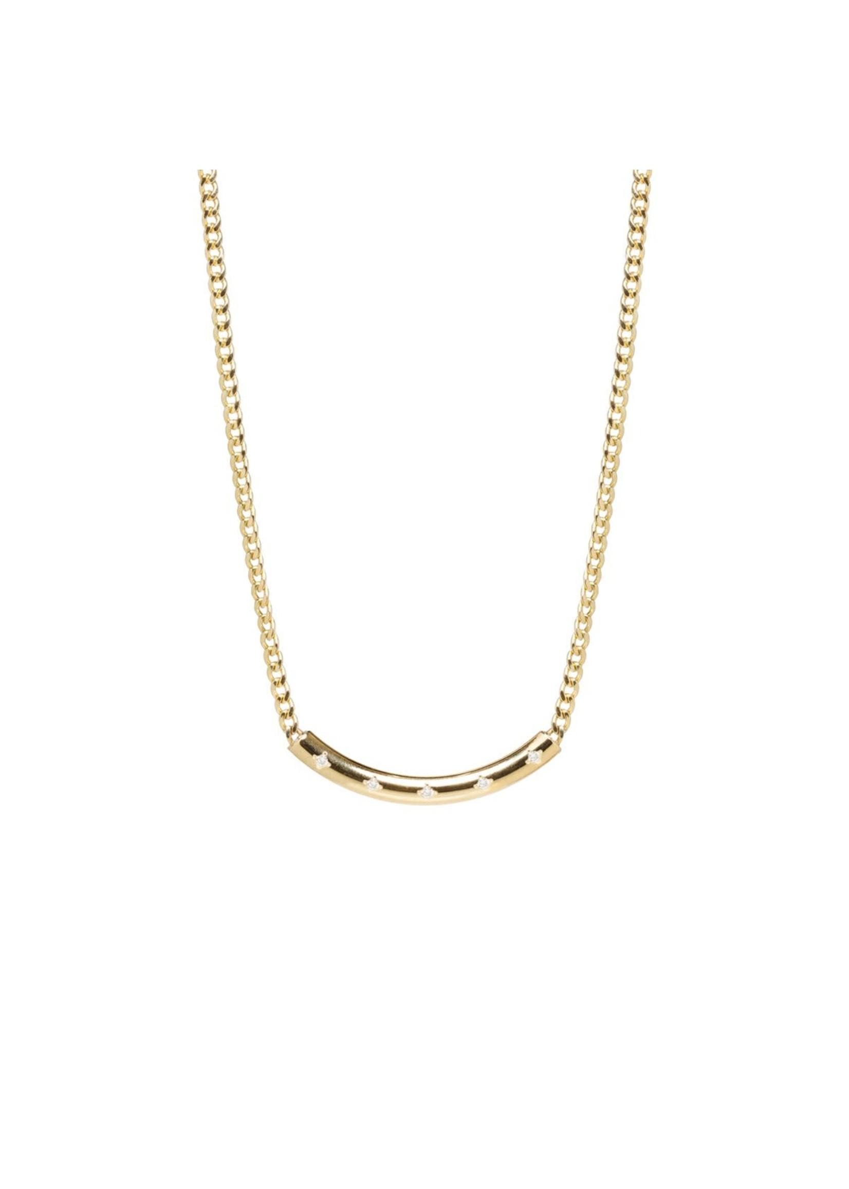 Zoe Chicco X-Small Curb Chain Necklace