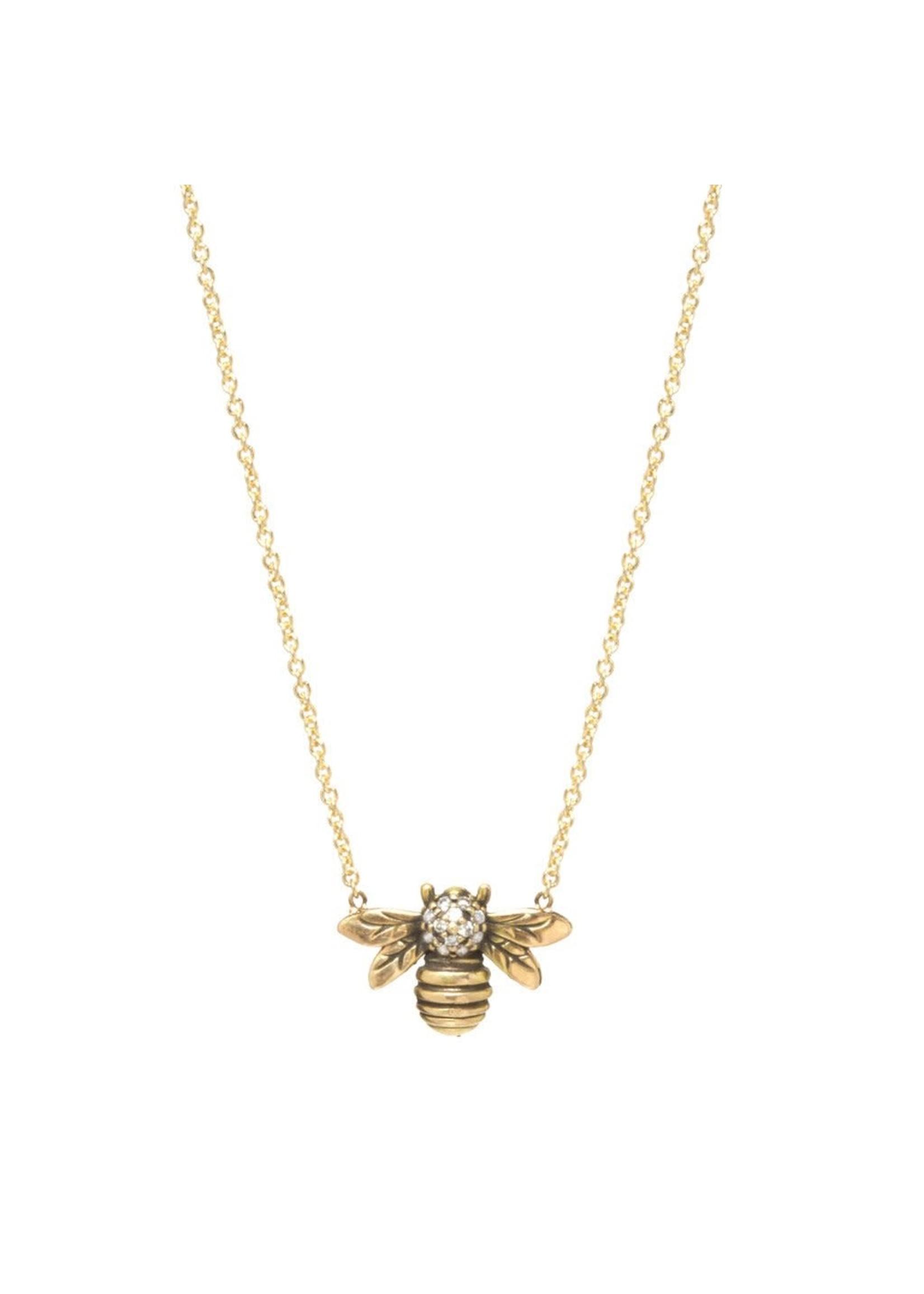 Workhorse Megachile Pluto Bee Necklace