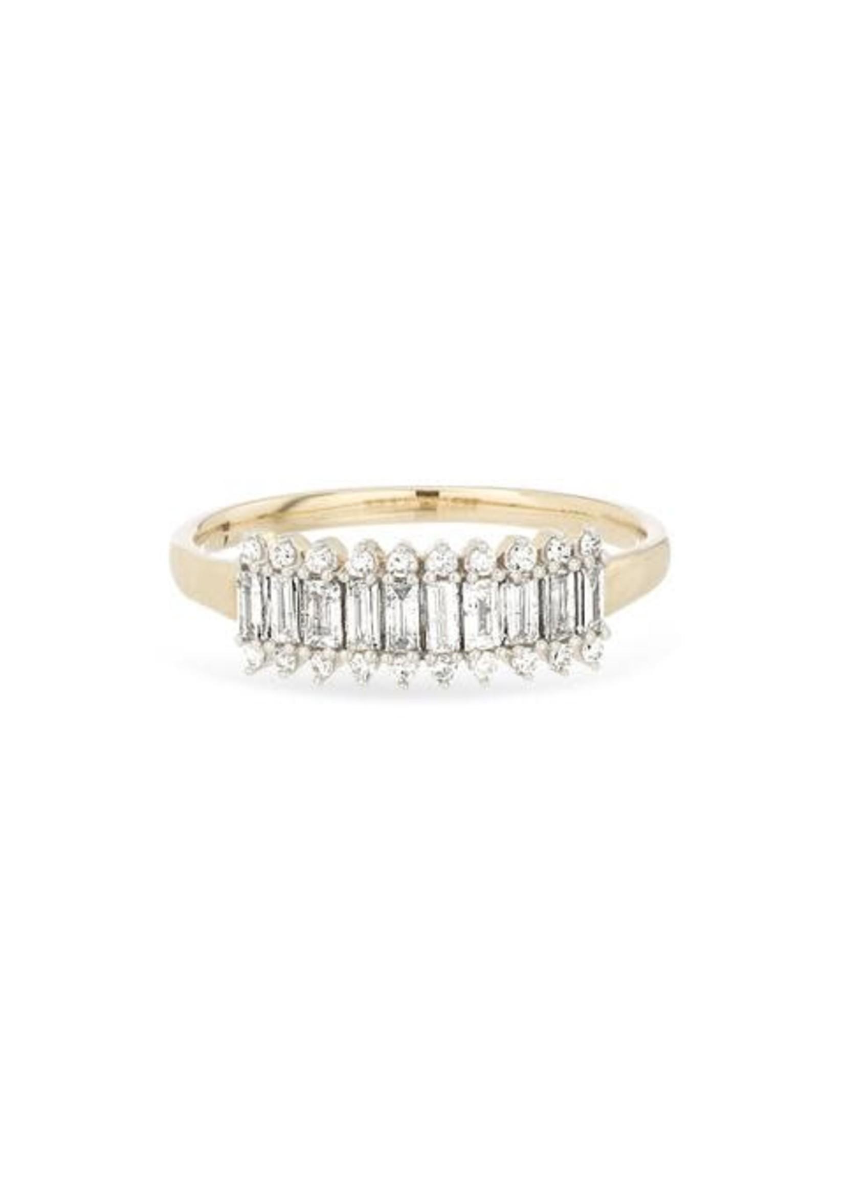 Adina Reyter Short Stack Baguette Ring