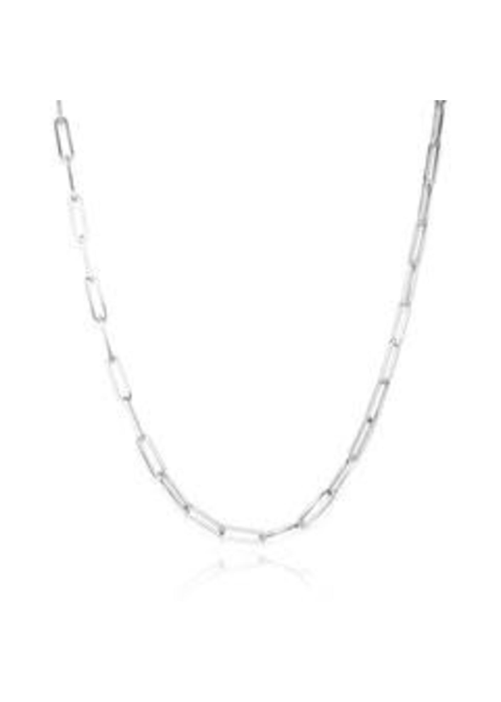 Melinda Maria Silver Samantha Chain Necklace