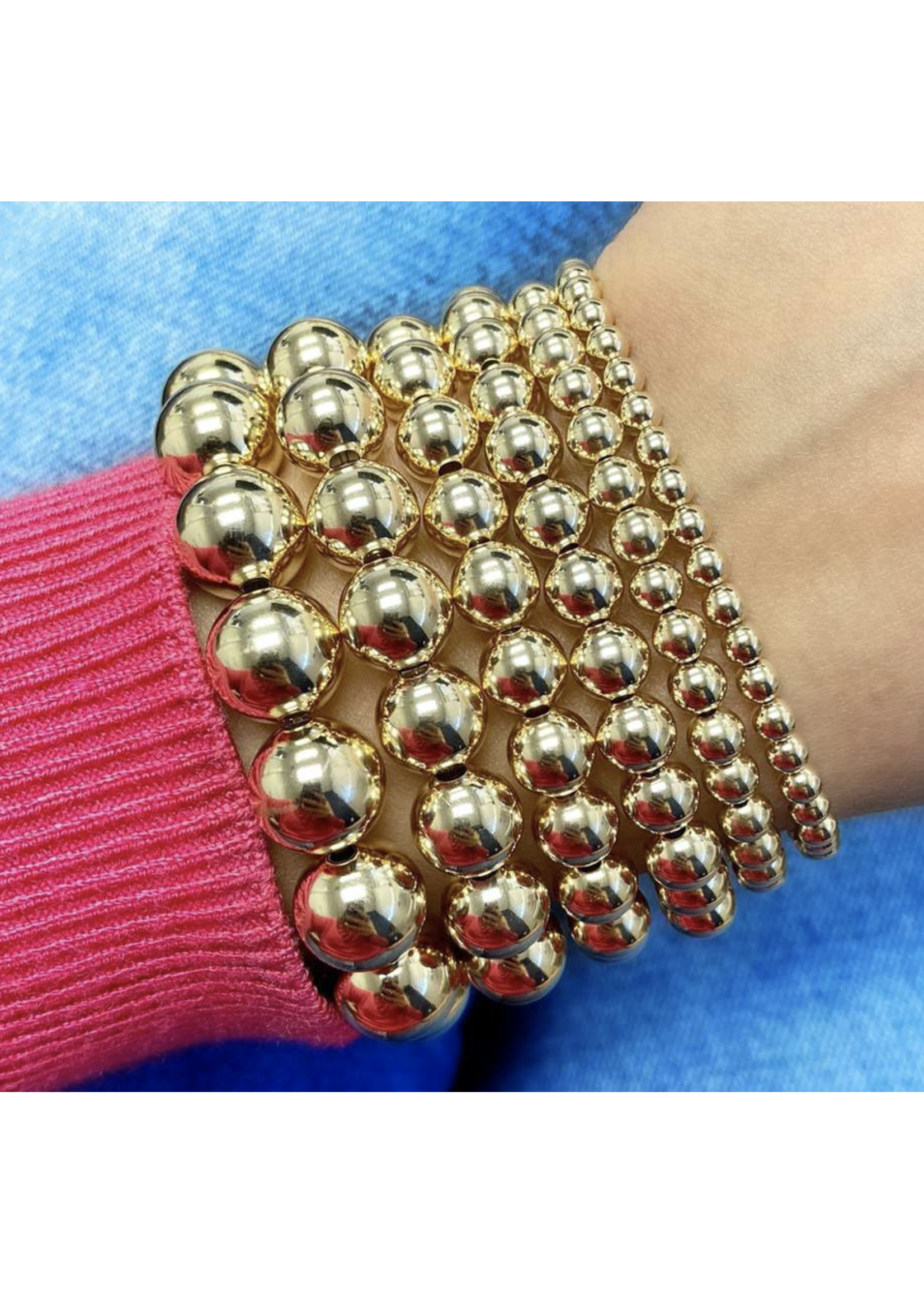 Jaimie Nicole Gold Baller Bracelet
