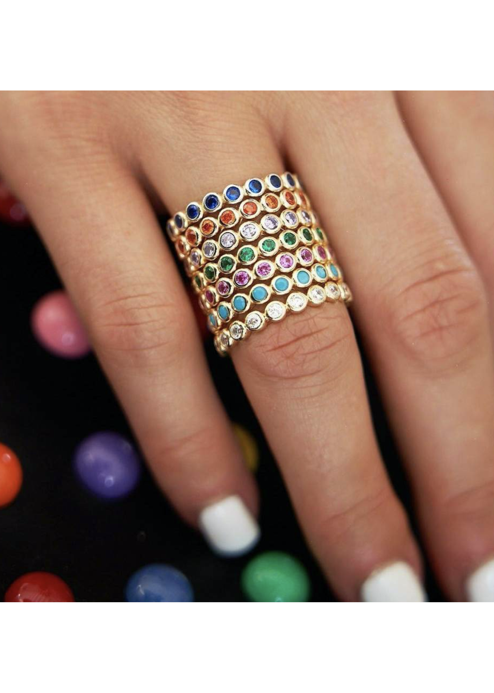 Jaimie Nicole Play & Stack Color Ring