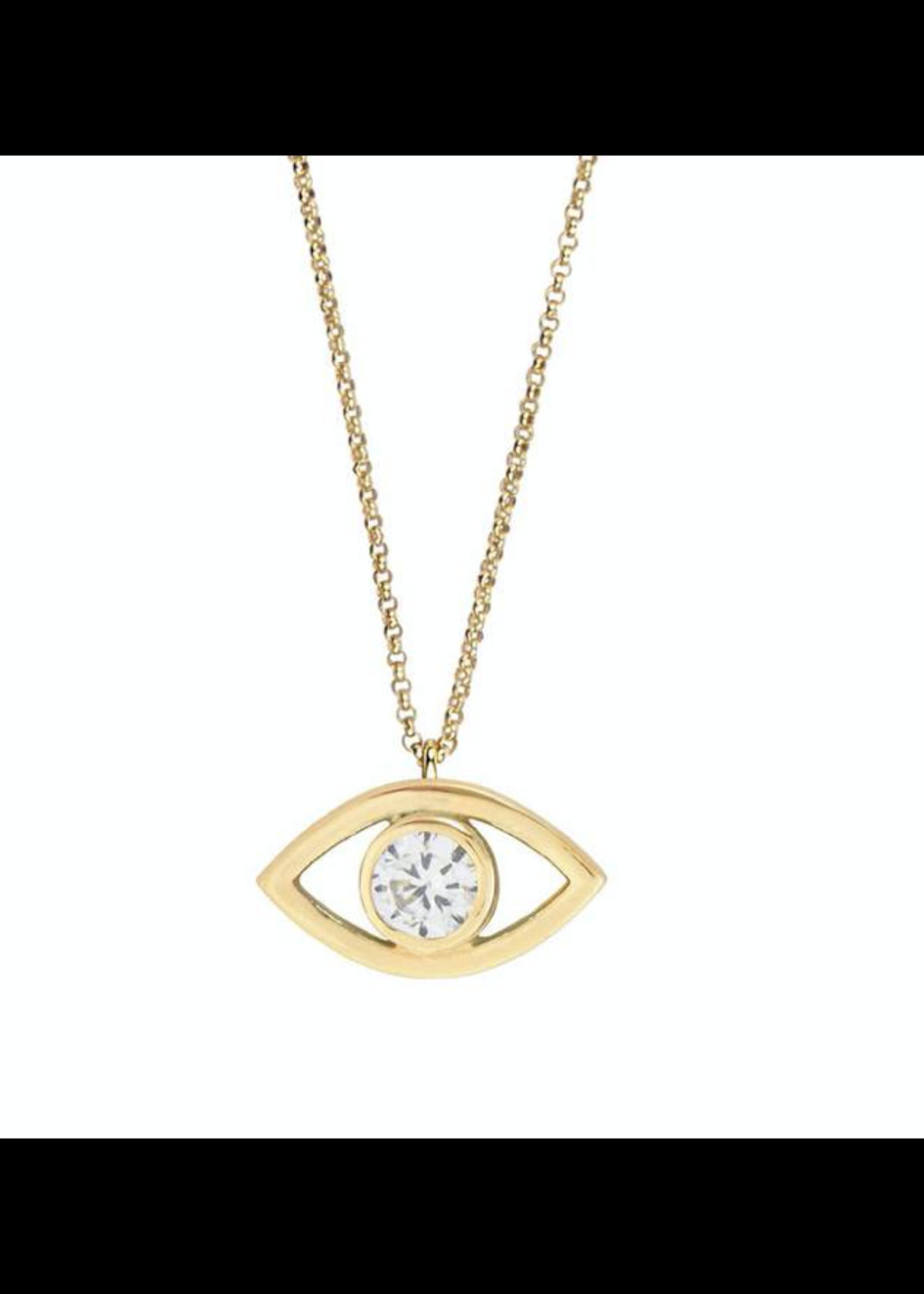 Jaimie Nicole See No Evil Necklace