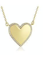 Melinda Maria Emilia Heart Necklace