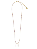 Mishky Skinny Pearls Necklace