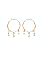 Zoe Chicco Circle Earrings