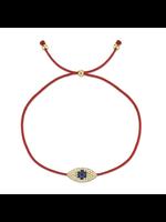 Jill Alberts Diamond &  Blue Sapphire  Eye Bracelet