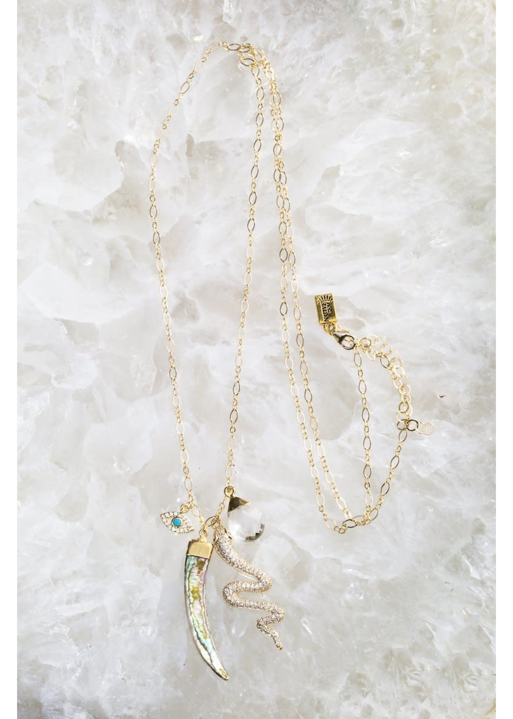 Native Gem Hypnotic Necklace