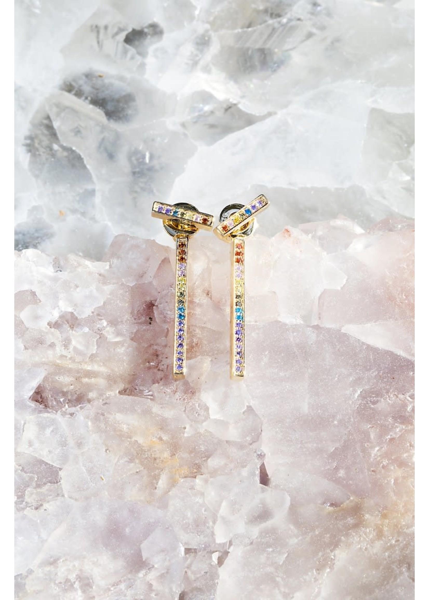 Native Gem Secrets Rainbow Earrings