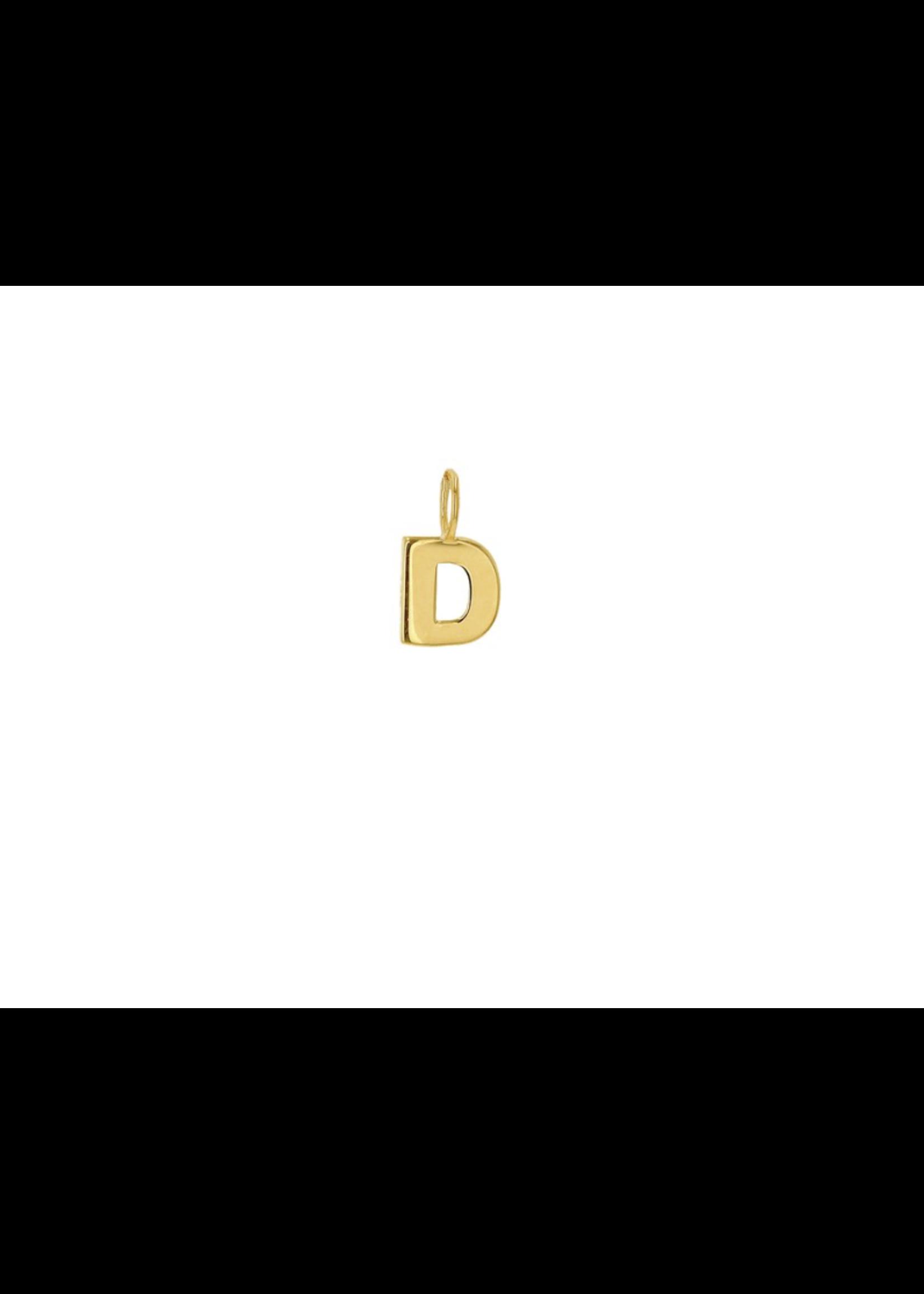 Rachel Reid  Mini Block Letter Charm