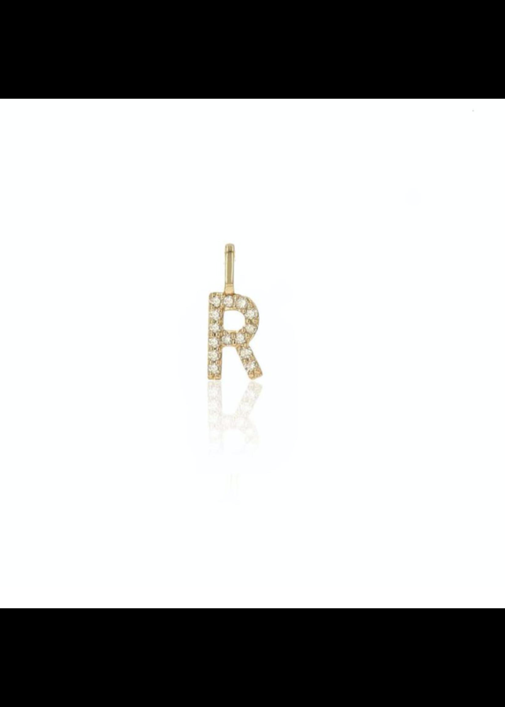 Rachel Reid Diamond Letter Charm