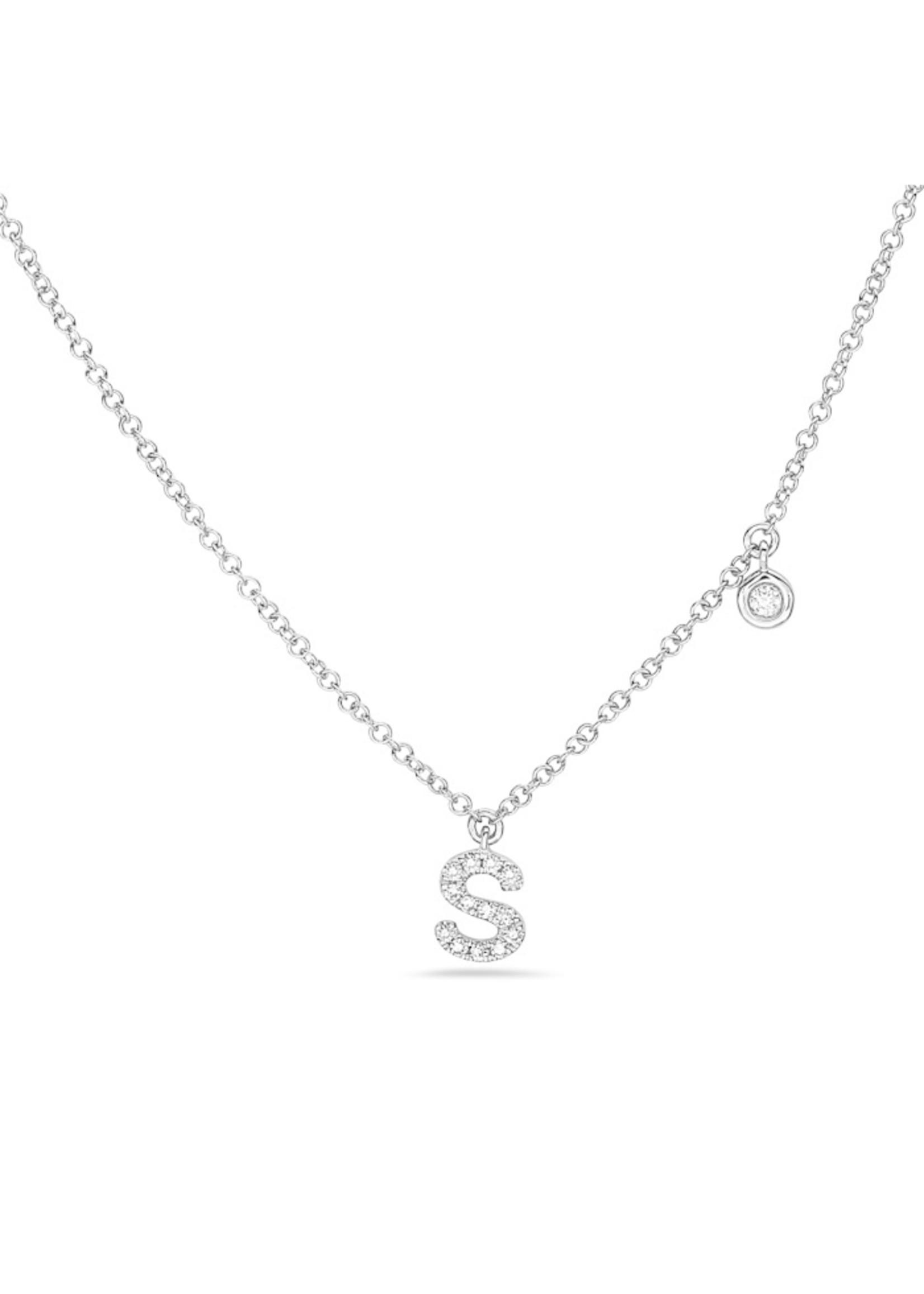 Jill Alberts Initial Necklace