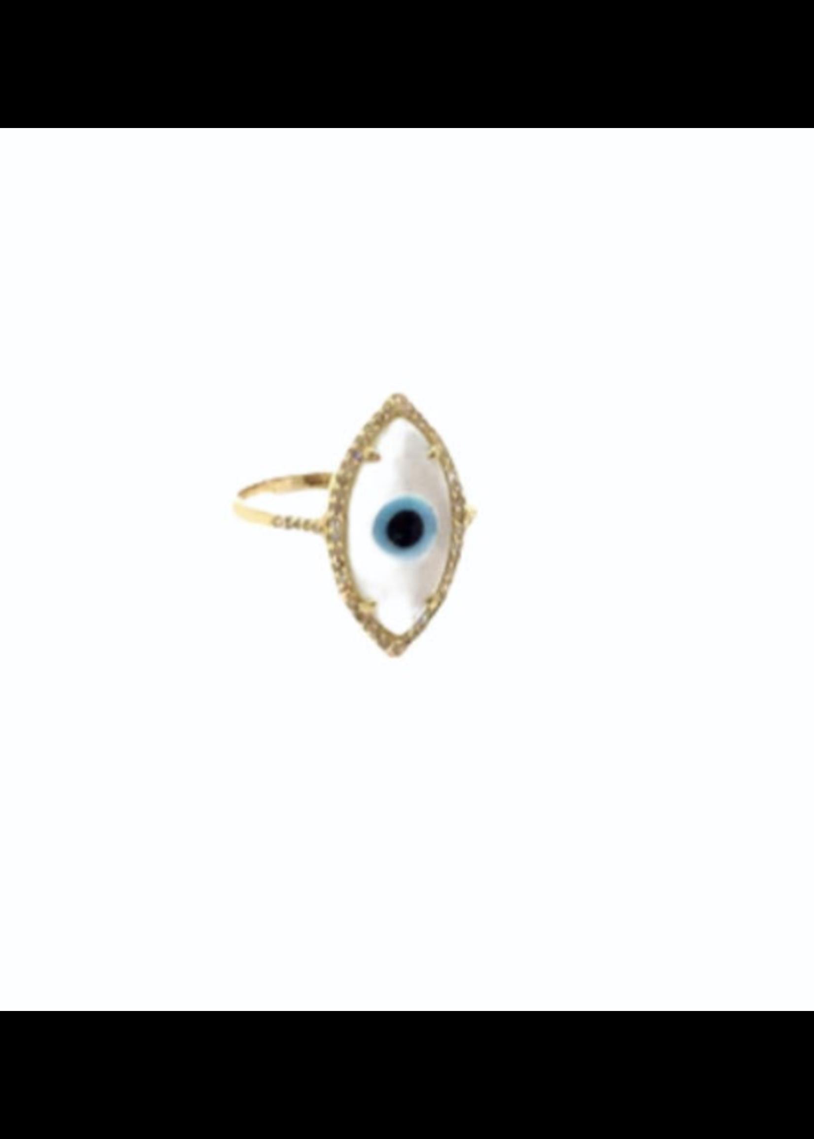 Jill Alberts Evil Eye Ring